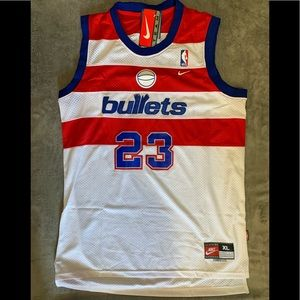 Michael Jordan #23 Washington Bullets Jersey